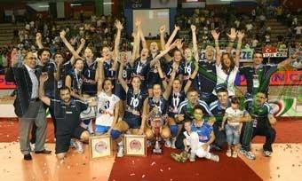 Italia Juniores Femminile Campione d'Europa