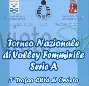"""Quadrangolare """"Città di Orvieto"""" di Volley femminile"""