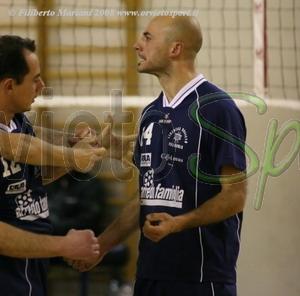 La Libertas Orvieto Volley saluta il 2008 con un successo