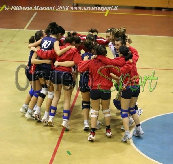 Grande prova del Volley Team Banca Euromobiliare