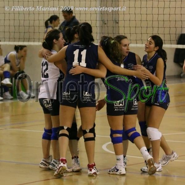 La Db Servizi Volley Team Orvieto vince il derby in Ia divisione