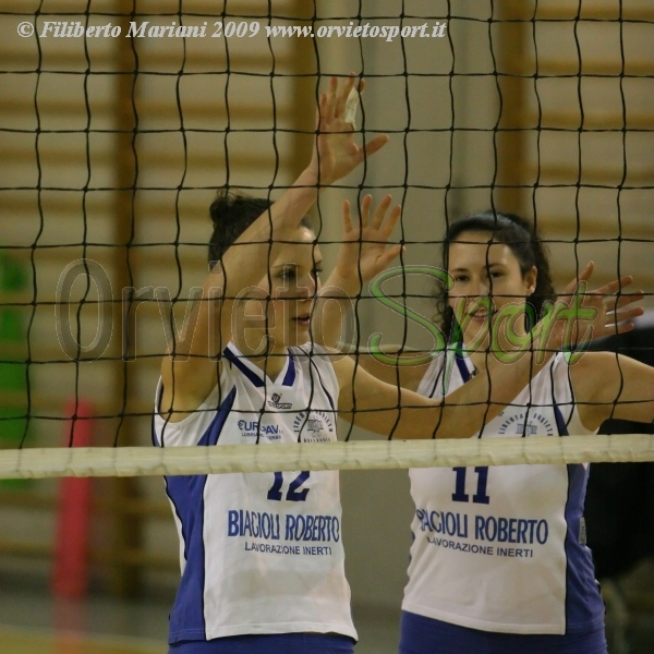 Libertas Orvieto cede al quinto set il derby al Volley Team