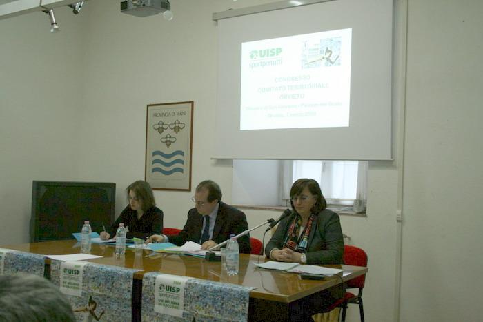 Uisp Orvieto, Fabrizia Mencarelli riconfermata presidente