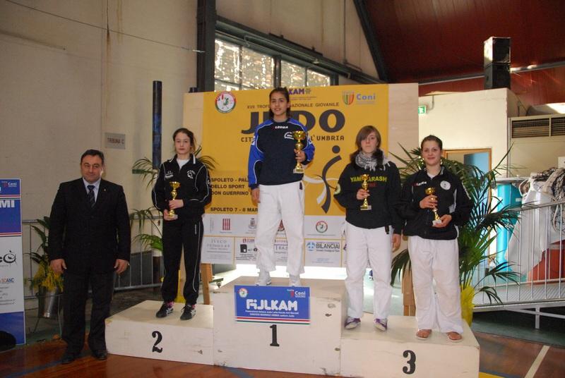 Al Banzai Cortina Roma il 17° Trofeo internazionale di judo Città di Giano dell'Umbria