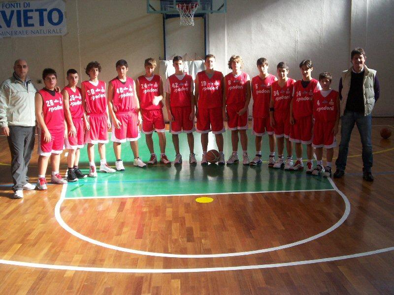 L'Under 15 dell'Orvieto Basket piega il Gualdo