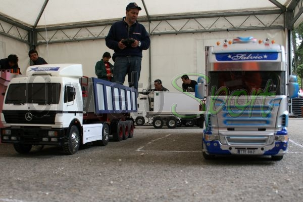 Truck Model, grande successo per il Primo Raduno di modellismo radiocomandato e statico ad Orvieto