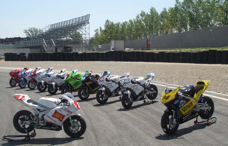 Circuito di Viterbo: riparte la stagione agonistica con la penultima prova del campionato italiano minibike motard