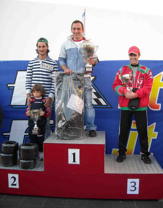 Marco Diamanti si aggiudica il 2° Trofeo Santa Rosa per la classe KZ2