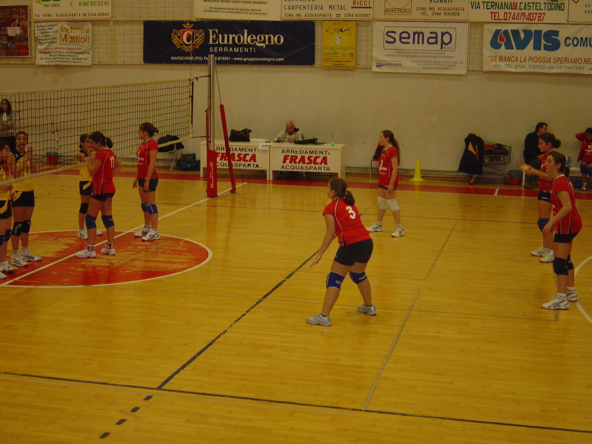 La Volley-Team under 14 alla prima di campionato vince e convince ad Acquasparta
