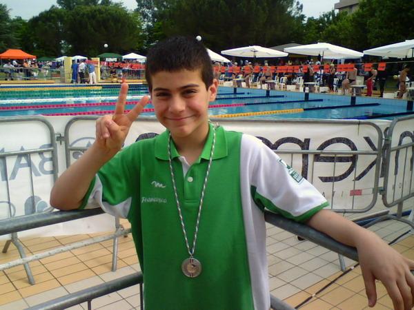 Francesco Formica Della Orvieto Nuoto 97 Ritocca I Record