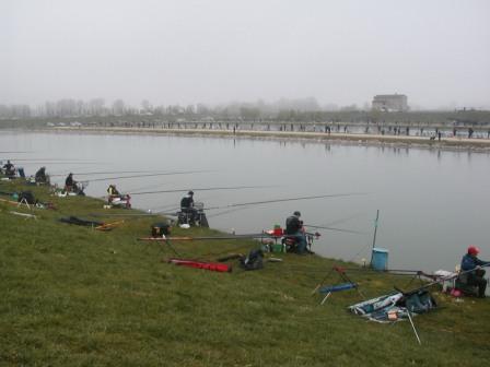 1° Prova del Campionato di Serie C – Terni di Pesca al Colpo