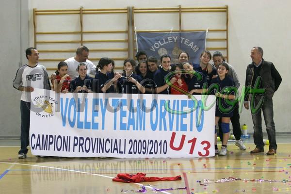 Volley Team U13 campione provinciale
