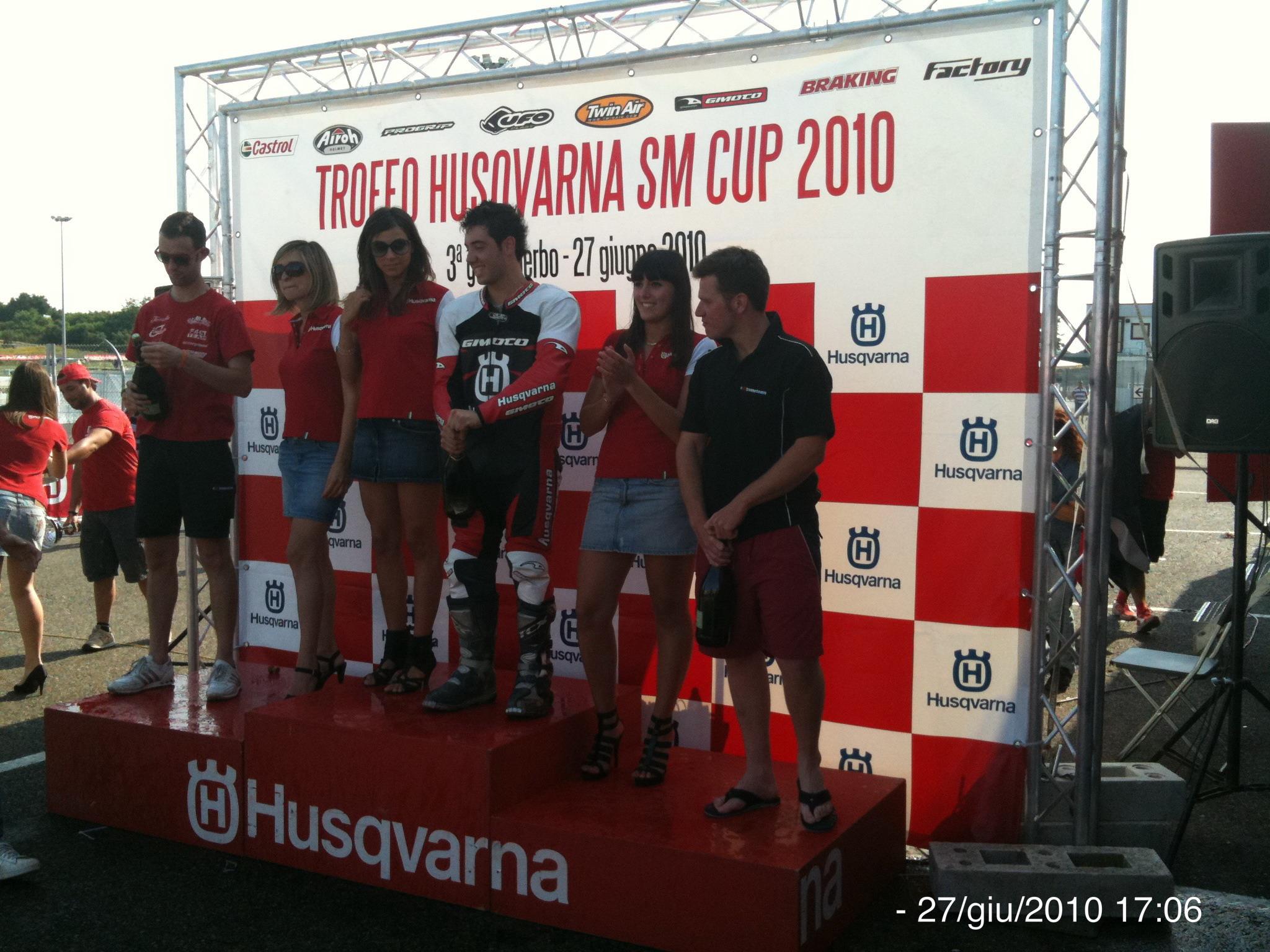 Husqvarna Cup 2010: Matteo Traversa si aggiudica la prova di Viterbo