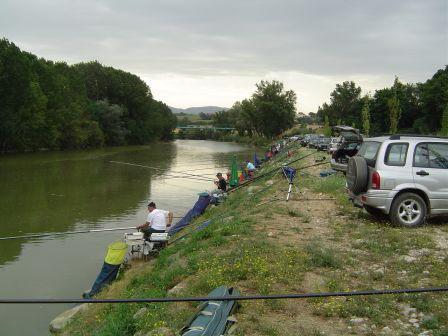 Pesca al colpo. 3° Prova Campionato di Serie C- Terni
