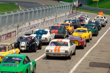 Modena 100 Ore Classic: sosta e prova di speciale di velocità a Orvieto