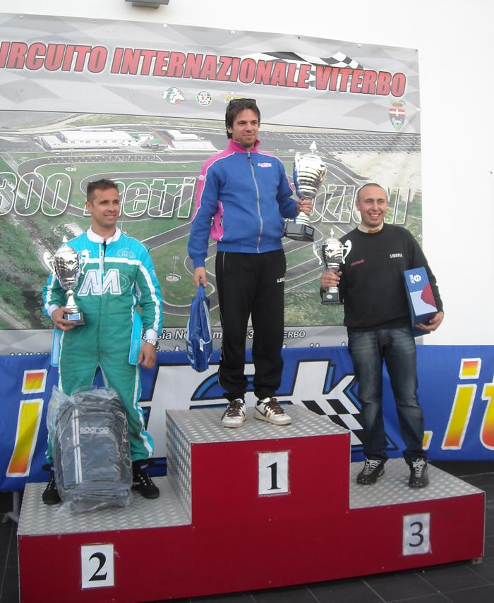 Il viterbese Alessandro Fabiani conquista il trofeo di kart Città di Viterbo