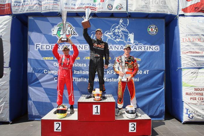 Circuito Internazionale di Viterbo: grande successo per l'internazionale di kart Open Masters 2010
