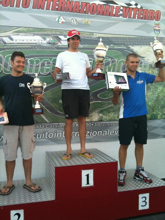 Il viterbese Alessandro Fabiani si aggiudica il 3° Trofeo Santa Rosa nella classe regina