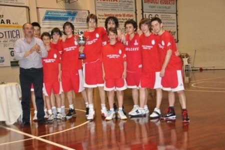 L'Orvieto Basket U15 vince le Final Four. Ancora un Trofeo per il presidente Biagioli