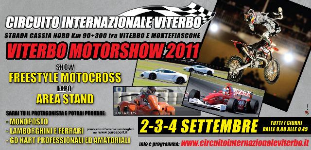 """Circuito Internazionale di Viterbo: Tutto pronto per il """"Motor Show"""""""