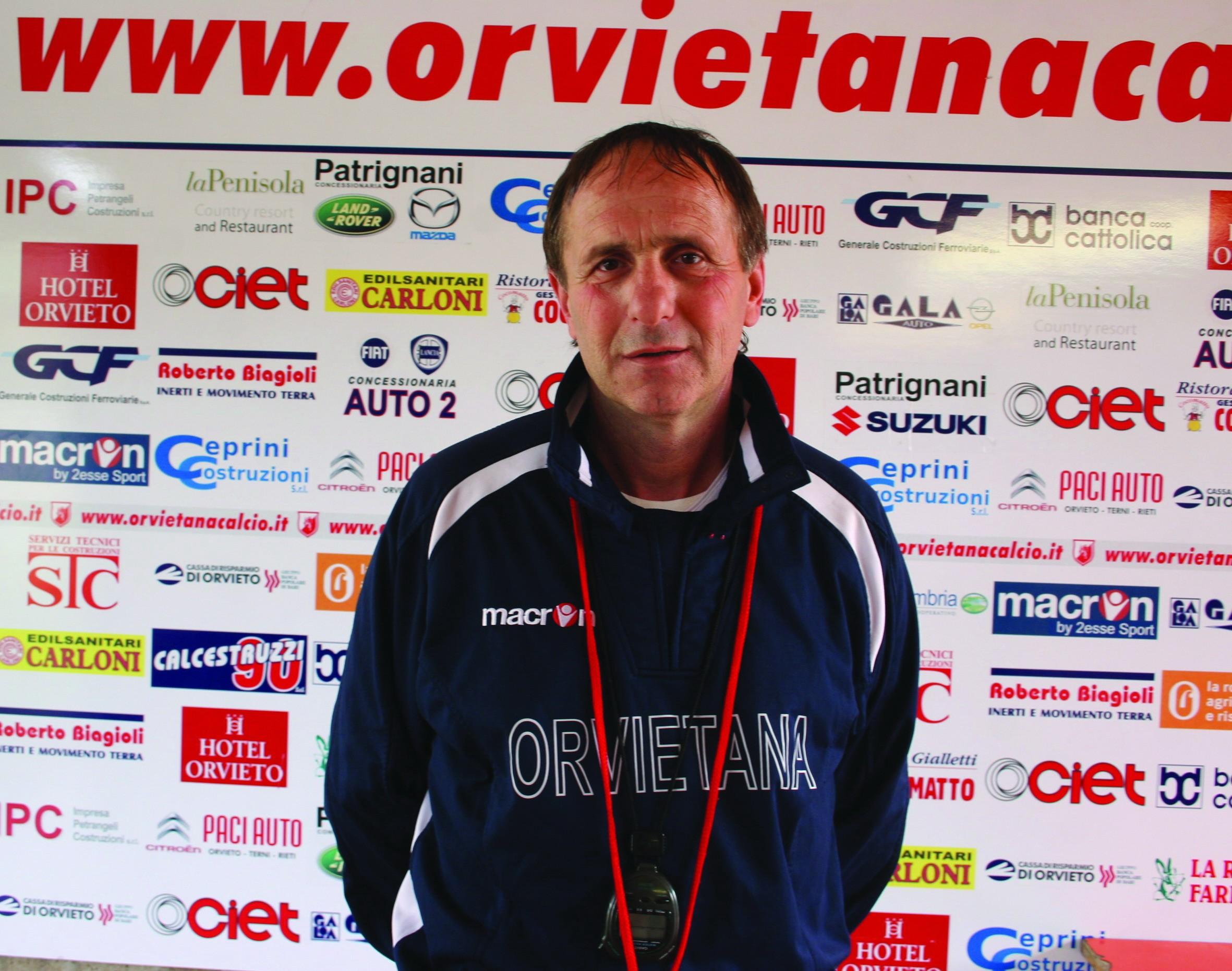 Silvano Fiorucci è il nuovo allenatore dell'Orvietana