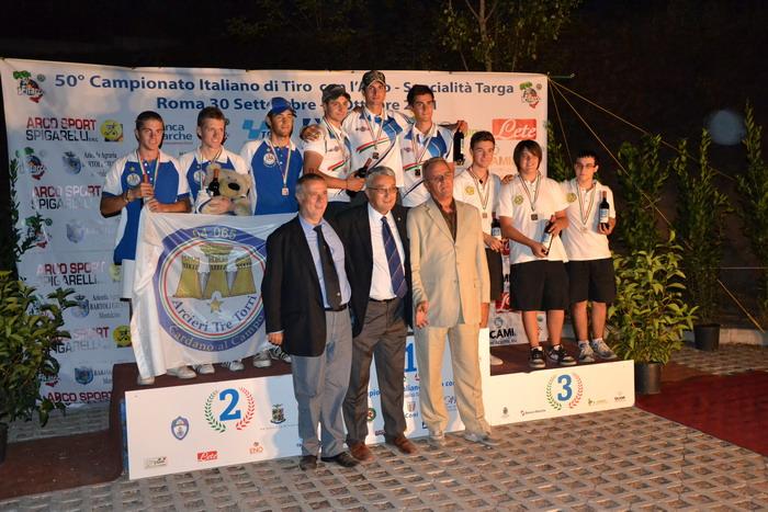 Arcieri Città di Terni: una medaglia d'oro e due di bronzo ai Campionati italiani