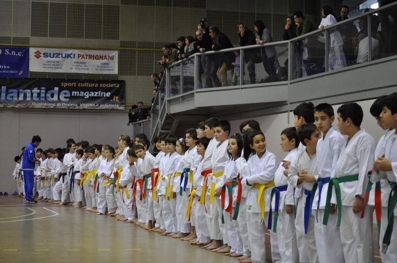 Domenica di karate al PalaPapini