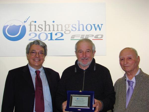 Anche la Lenza Orvietana Colmic Stonfo tra i premiati al Fishing Show 2012 di Bologna