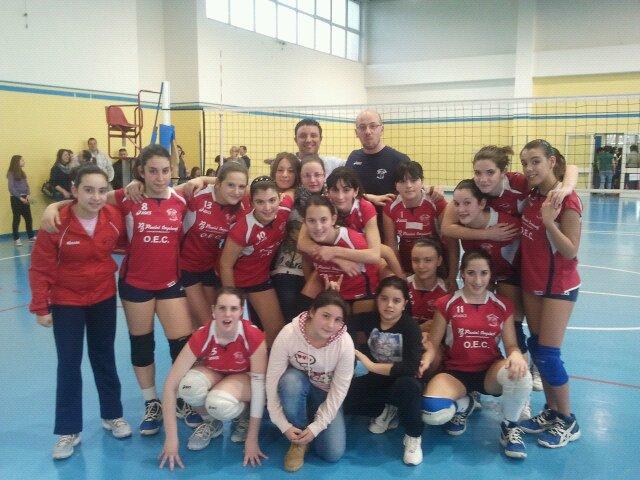 "U14: O.E.C. Volley Team Orvieto ""Sempre piu' in alto"""