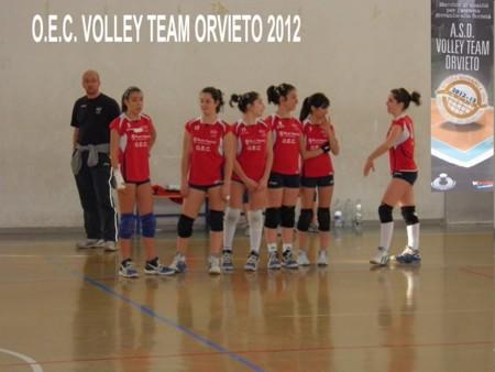Il grido dell'Under 14 Volley Team Orvieto : SI VOLA IN FINALE!
