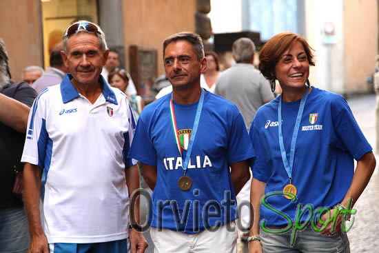 Valeria Pedetti e Romolo Pelliccia Campioni Italiani