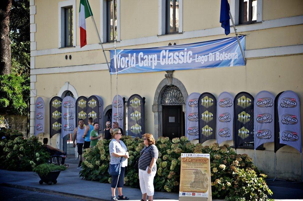 La World Carp Classic 2012 quest'anno è a Bolsena