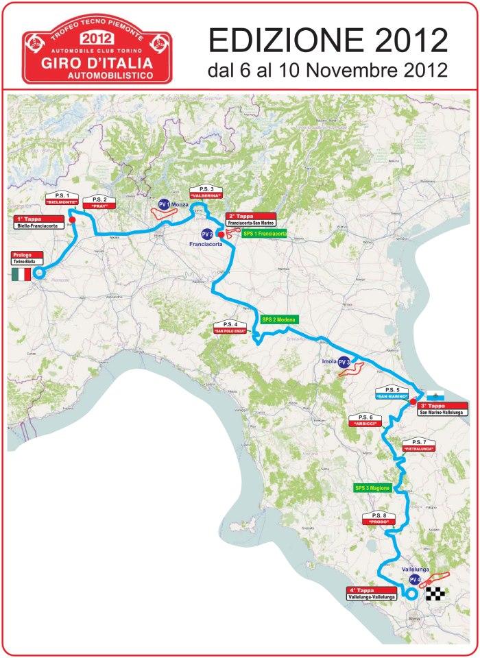 Annullato il Giro Automobilistico d'Italia
