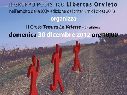 """2° Cross """"Città di Orvieto"""". Torna la corsa tra i vigneti"""