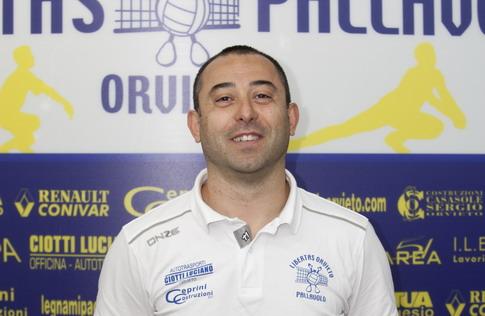 """Fabrizio Lisei: un """"doppio"""" coach in casa Libertas Pallavolo Orvieto"""