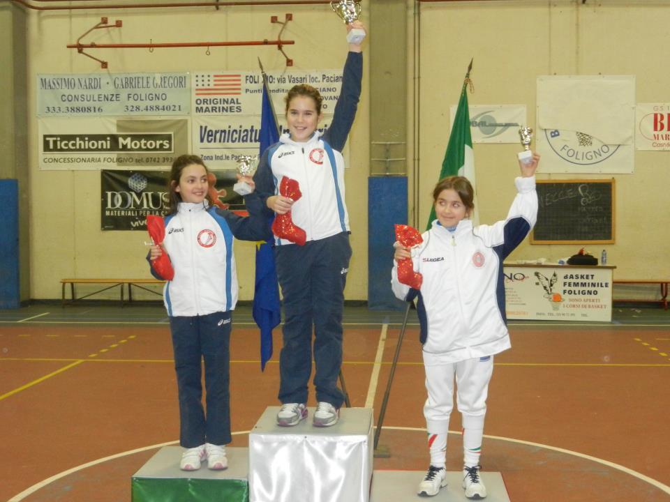 Ottima gara per la UISP SCHERMA ORVIETO alla seconda prova interregionale Giovanissimi Umbria Marche di Foligno