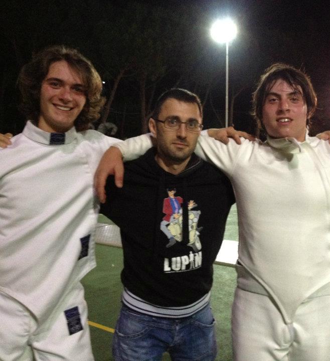 Ottima prestazione per la Scherma UISP Orvieto al campionato italiano C2
