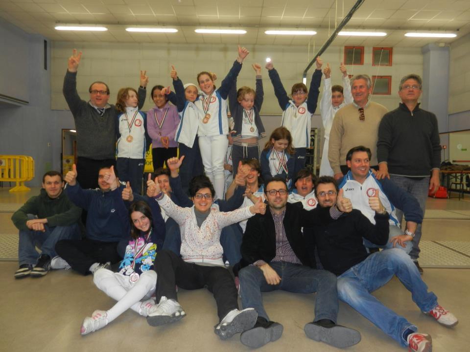 """UISP Scherma Orvieto in alto al III Trofeo """"Città di Orvieto"""". La società della rupe diventa Scuola Magistrale FIS"""