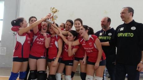 Un altro titolo Provinciale per il Volley Team Orvieto. Leader anche la U14