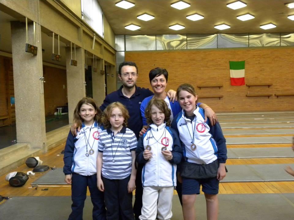 Uisp Scherma Orvieto fa il pieno al Trofeo esordienti Terni