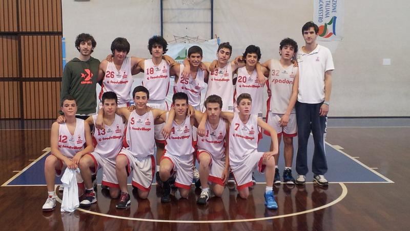 Vittoria dell'Orvieto Basket Under 14 contro Pontevecchio
