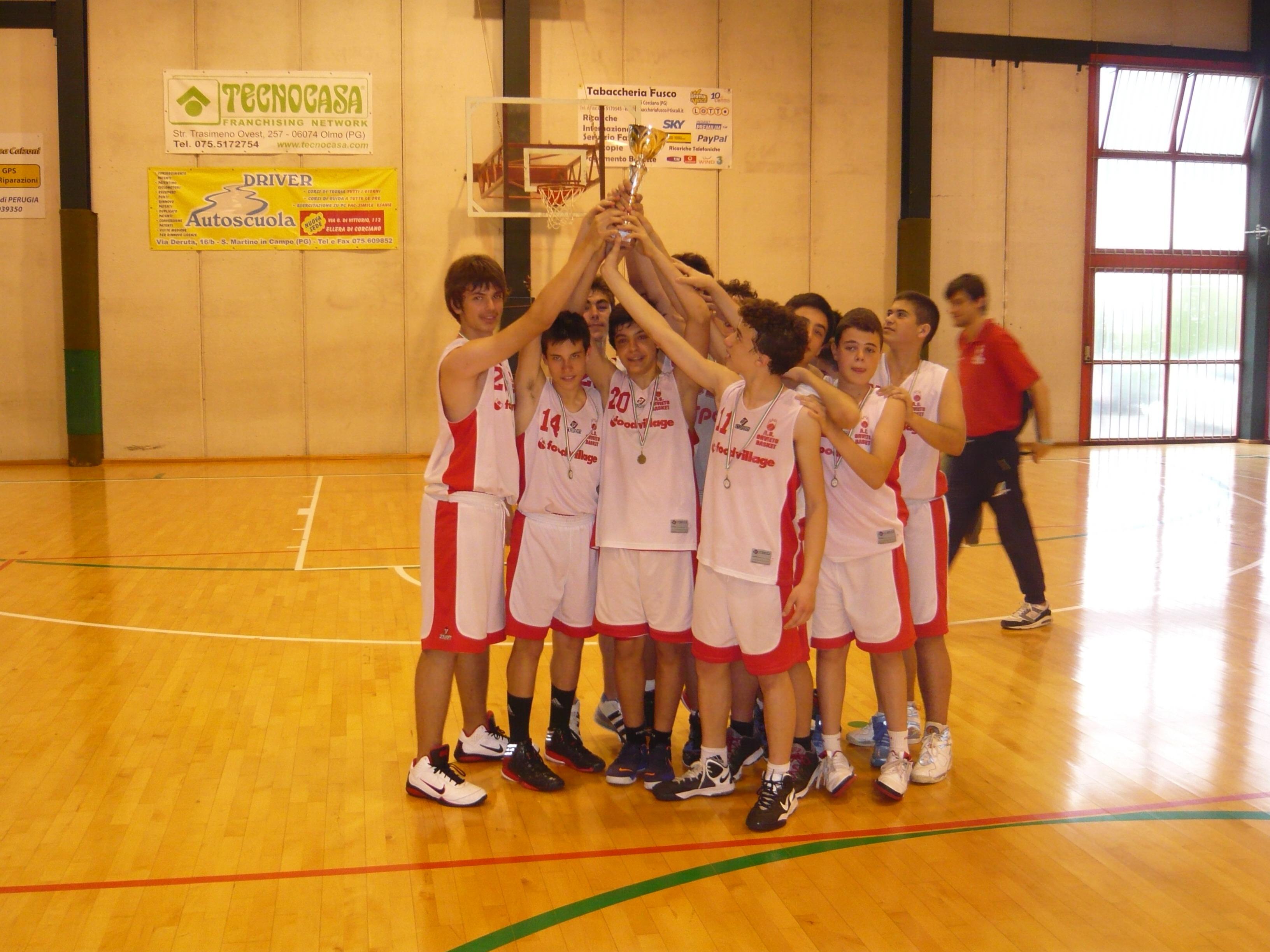 Terzo posto per l'OrvietoBasket U14 alle finali di Assisi