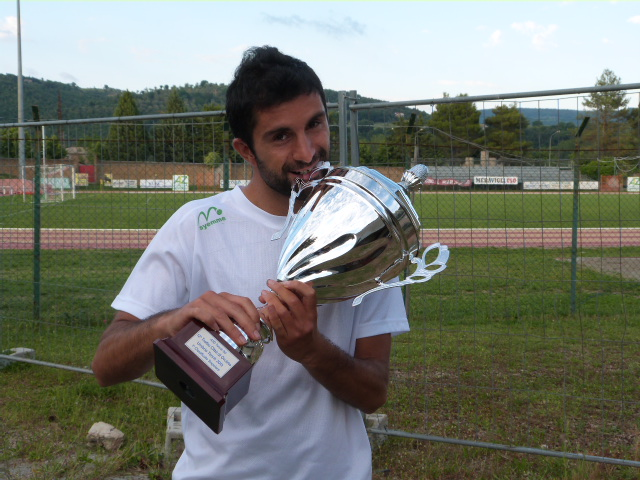 Torneo Umbria Tennis 2013: vince su tutti Luca Feola