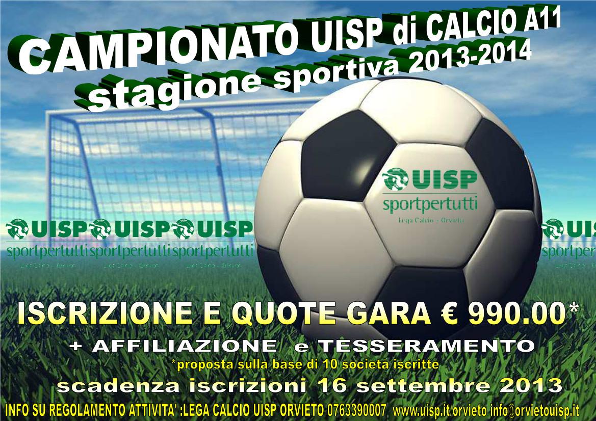 Campionato UISP 2013/14 calcio a 11