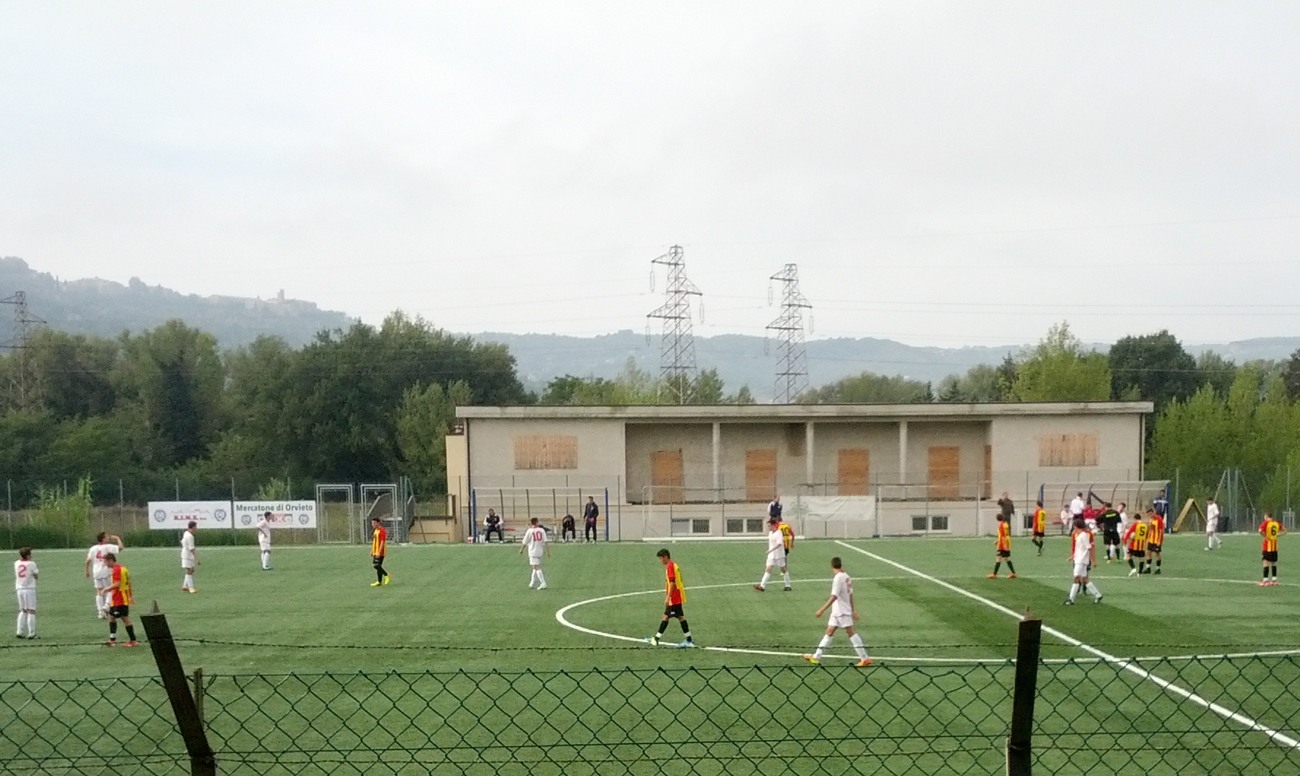 Allievi: Orvietana asfaltata dall'Angelana 1-4