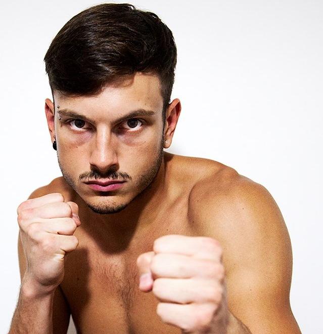 """Il """"guerriero della rupe """" é tornato. Per Giulio Biagioli buon successo a Terni nel Kick Boxing"""