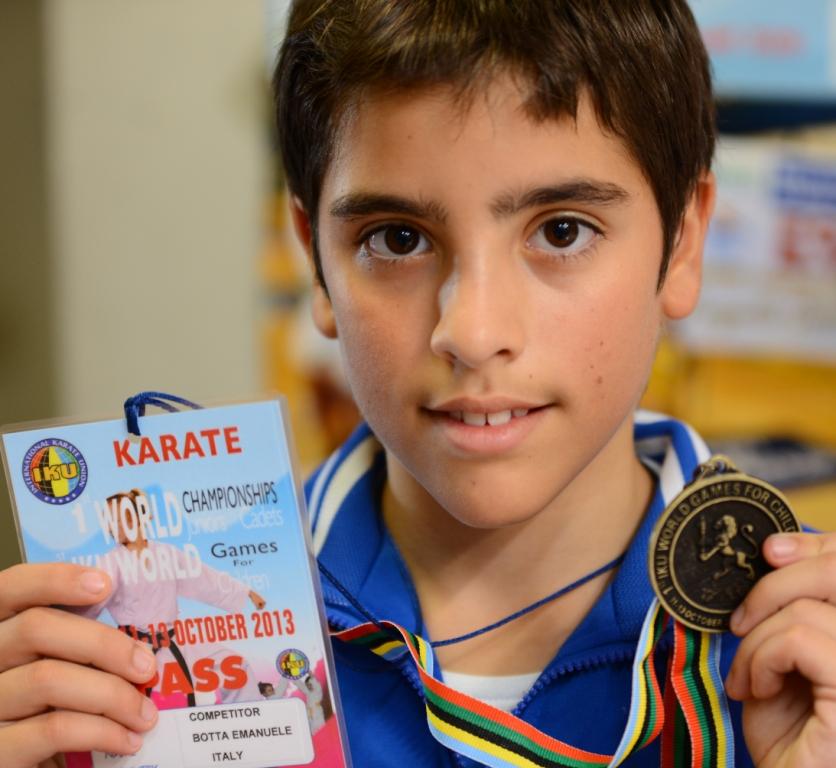 Oro e Bronzo mondiali per il Karate Orvietano