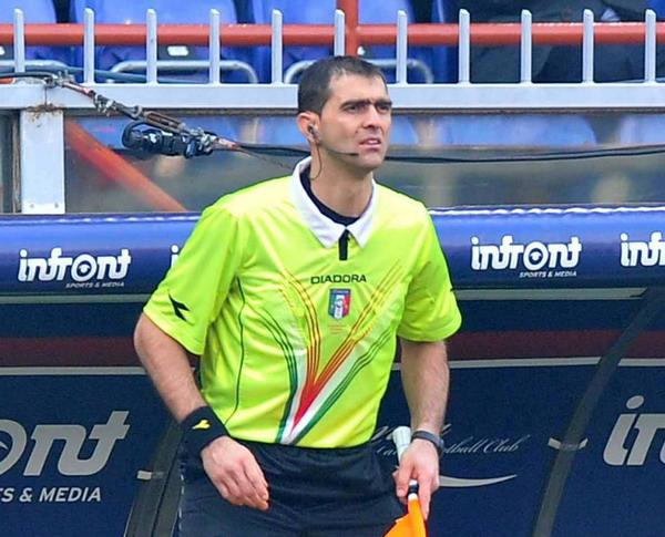 Nella foto l'assistente Alessandro Costanzo
