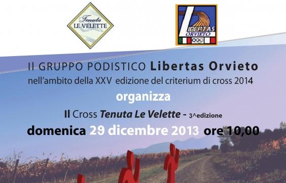 Di corsa tra le vigne, domenica 29 dicembre 3a edizione del Cross Tenuta Le Velette con la Libertas Orvieto