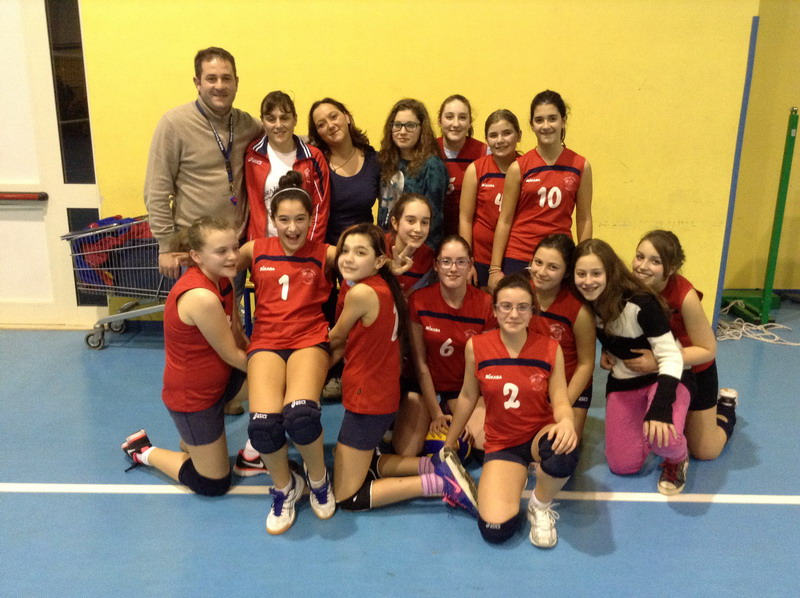 Volley Team U13 ultima giornata di andata